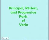 Perfect and Progressive Tenses of Verbs Smartboard File