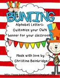 Perfect for Reading Month!  Primary Color Buntings- Custom