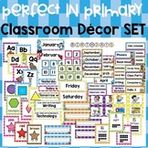 Perfect in Primary Classroom Decor Set