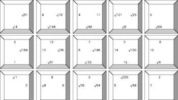 Perfect square puzzle