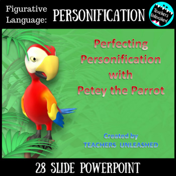 Personification PowerPoint Lesson {Figurative Language}