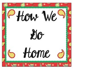 How We Go Home Chart: Perfectly Paisley