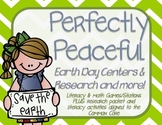 Perfectly Peaceful Earth Day Stations AND MORE!