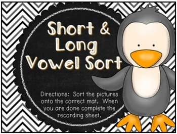 Perfectly Penguin ELA Stations {Common Core Aligned}