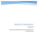 Perfectly Persuasive Essays