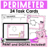 Perimeter Task Cards (Scoot Game)
