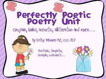 Perfectly Poetic Poetry Unit
