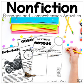 Perfectly Primary Nonfiction Articles and Close Reading