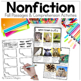 Primary Nonfiction Articles and Close Reading  FALL EDITION