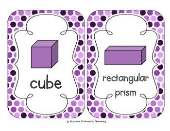 Perfectly Purple Polka Dot Shape Cards
