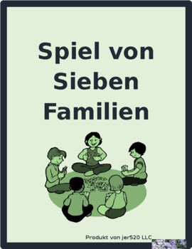 Perfekt Irregular German Verbs Spiel von sieben Familien