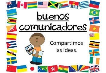 Perfil de la comunidad de aprendizaje del IB (Learner Profile posters) Spanish
