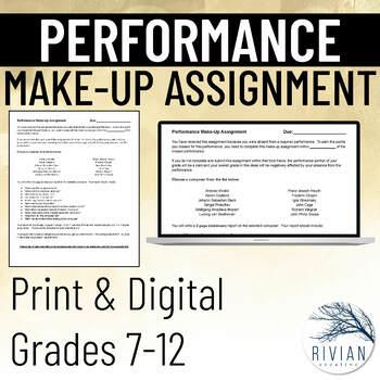 Performance Alternative Assignment