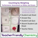 """Chemistry Lab: Student Performance Assessment """"Counting by Weighing"""""""