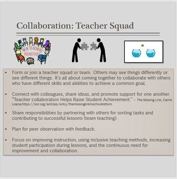 Performance Guidelines for Educators: Your Ongoing Plan For Professional Growth