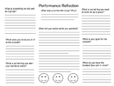Performance Reflection