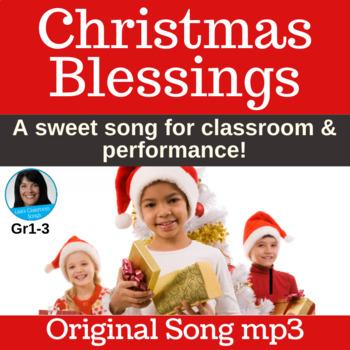 "Original Christmas Song | ""Christmas Blessings"" by Lisa Gillam | Song mp3"