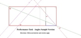Performance Task - Angles Sample