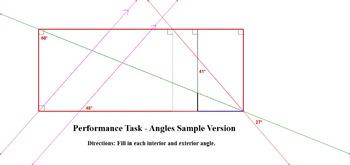 Performance Task - Angles Sample