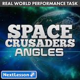 G4 Performance Task - Angles - Space Crusaders
