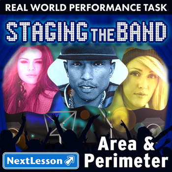 Bundle G4 Area & Perimeter - Staging the Band Performance Task