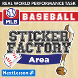 Performance Task – Area – Sticker Factory Baseball: SF Giants