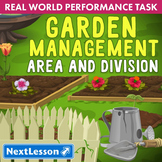 Performance Task – Area and Division – Garden Management – Herbs