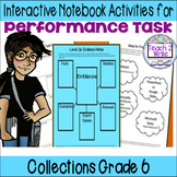 HMH Collections Grade 6 Collection 4 Performance Task Argu