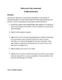 Performance Task Assessment for Traditional Literature