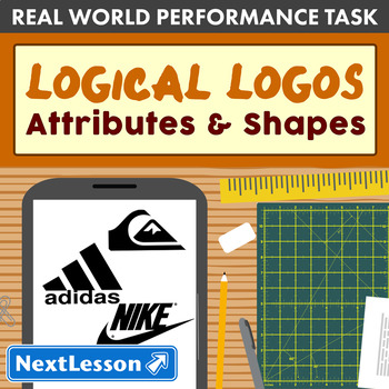 Performance Task – Attributes of Shapes – Logical Logos: Adidas
