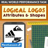 Performance Task – Attributes of Shapes – Logical Logos: Adidas
