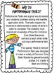 Performance Task {Back to School} FREEBIE!