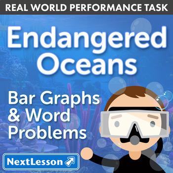 Performance Task – Bar Graphs & Word Problems – Endangered Oceans