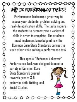 Performance Task {Bedroom Makeover}