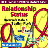Bundle G8 Bivariate Data & Scatter Plots-'Relationship Status' Performance Task