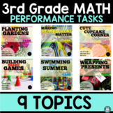 SBAC Test Prep - 3rd Grade Math Performance Task Bundle