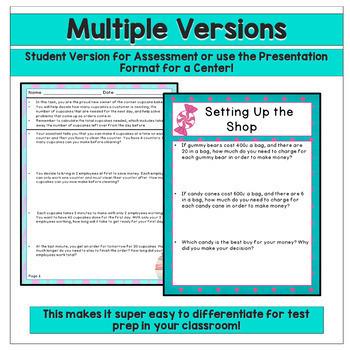SBAC Test Prep - 3rd Grade Math Performance Task Bundle