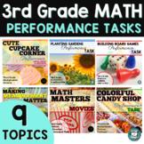 SBAC Prep - Math Task Bundle 3rd Grade
