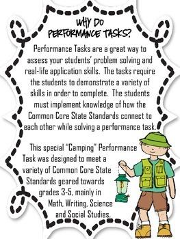 Performance Task {Camping}