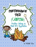 Performance Task {Camping}