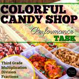 #SPRINGSAVINGS Performance Task - Colorful Candy Shop