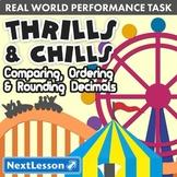 Bundle G5 Decimals - 'Thrills & Chills' Performance Task