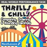 Bundle G5 Decimals - 'Thrills & Chills' Performance Task