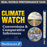 Performance Task - Conversions & Comparative Inferences - Climate Watch: AK & WA