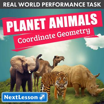 Performance Task – Coordinate Geometry – Planet Animals: Giant Panda