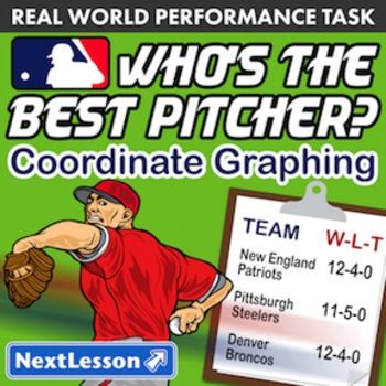 Performance Task – Coordinate Graphing – Who's the Best Pitcher: SF Giants
