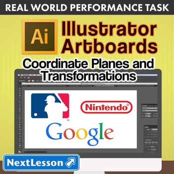 Performance Task – Coordinate Planes – Illustrator Artboards – Apple