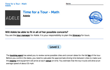 Bundle G5 Dividing Decimals & Equivalent Fractions - 'Time for a Tour' Task