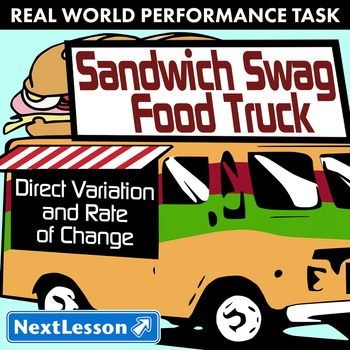 Performance Task – Direct Variation – Sandwich Swag Food Truck – Veggie Subs