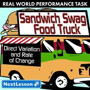 Performance Task – Direct Variation – Sandwich Swag Food T